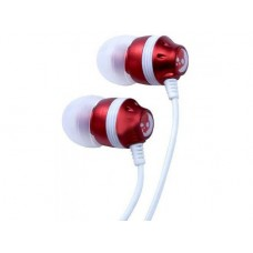 Наушники MP3 Skullcandy with mic D-5 red