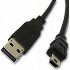 Дата кабель USB 2.0 AM to Mini 5P 0.8m Atcom