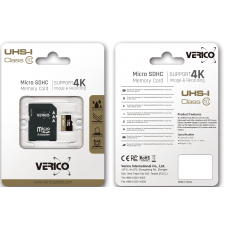 VERICO MICROSDHC 32GB (CLASS 10)+SD ADAPTER