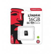 KINGSTON MICROSD 16GB (CLASS 10) (CARD ONLY)
