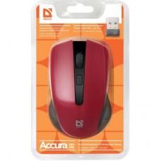 Мышка Defender Accura MM-935 Red беспроводная