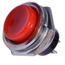 Кнопка DS-212 без фиксации OFF-(ON) красная