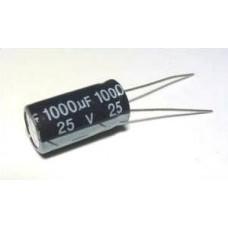 Конденсатор  1000uF 25V  105C