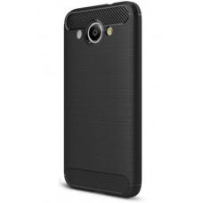 Чохол Huawei Y3 2017 Carbon Fiber (Black)