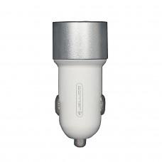 АЗУ JELLICO HC-21 LED 2USB 3.1A WHITE-SILVER