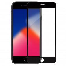Защитное стекло  Iphone 8 / 7 black full cover