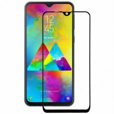 Захисне скло  Samsung M30 (2019) M305 black full cover