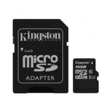 Карта памяти Kingston 16GB microSDHC Class 10 Canvas Select Plus 100R A1